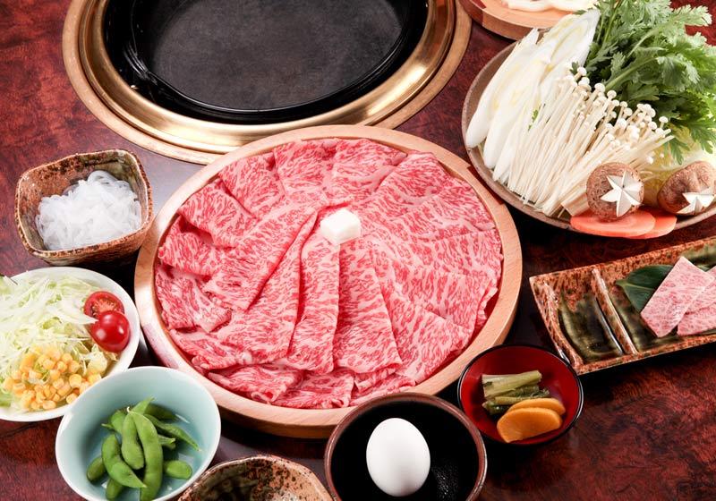 和牛すき焼きセット