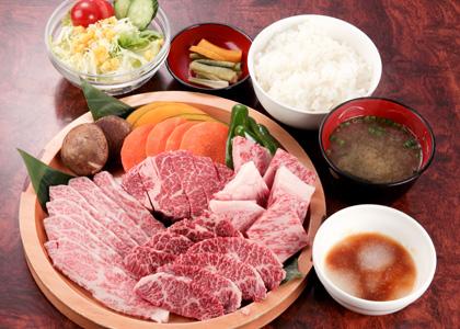 焼肉ランチ3,000円コース(税別)