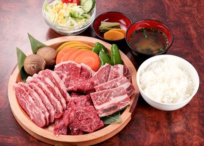 焼肉ランチ2,000円コース(税別)