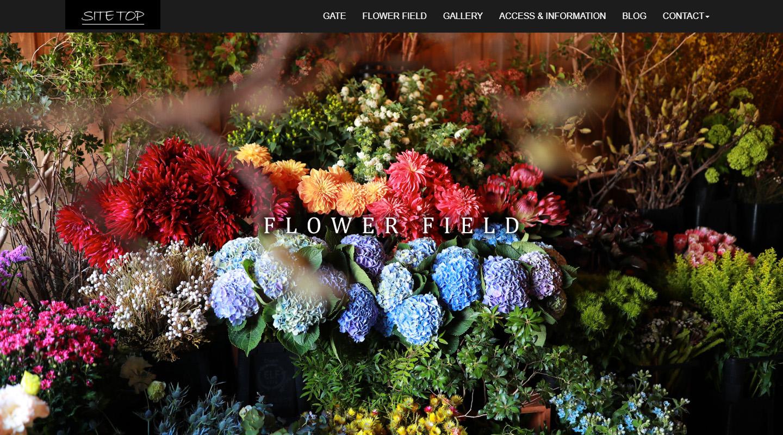 FLOWER FIELD トップイメージ