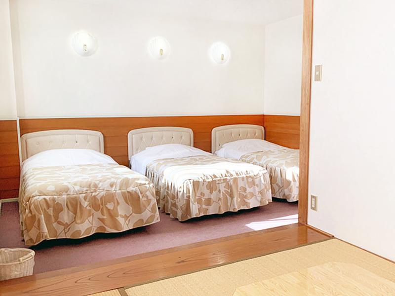 軽井沢のペンション洋室