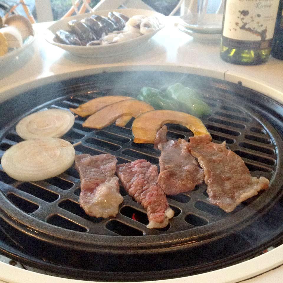 軽井沢のペンション食事