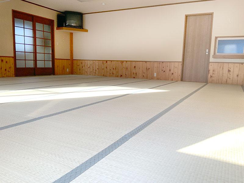 スポーツ合宿に最適な軽井沢のペンション大広間