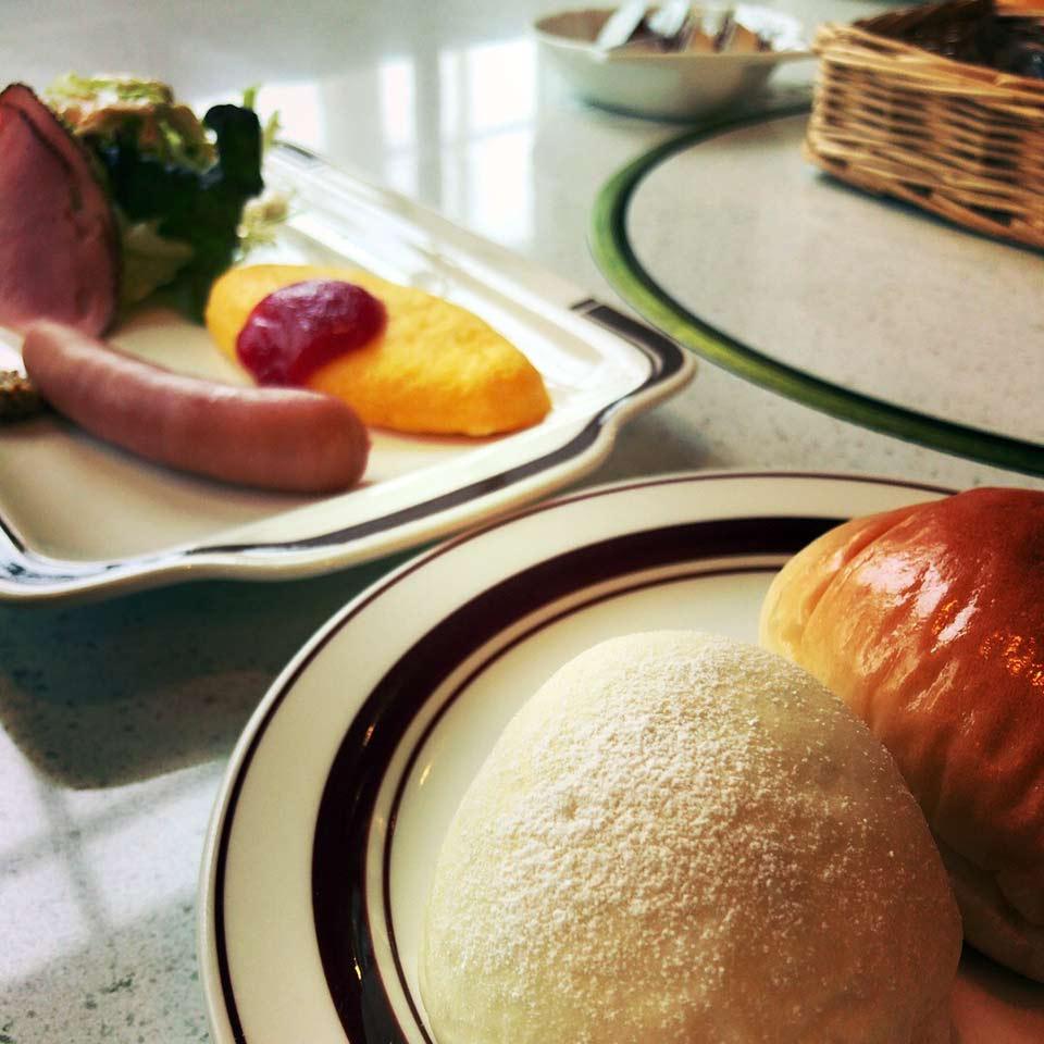 軽井沢のペンション焼きたてパン